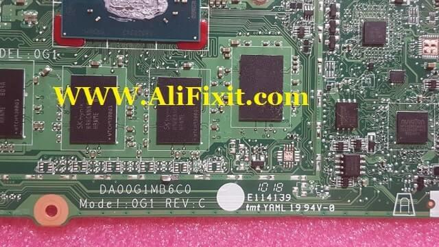 HP ChromeBook DA00G1MB6C0 bios